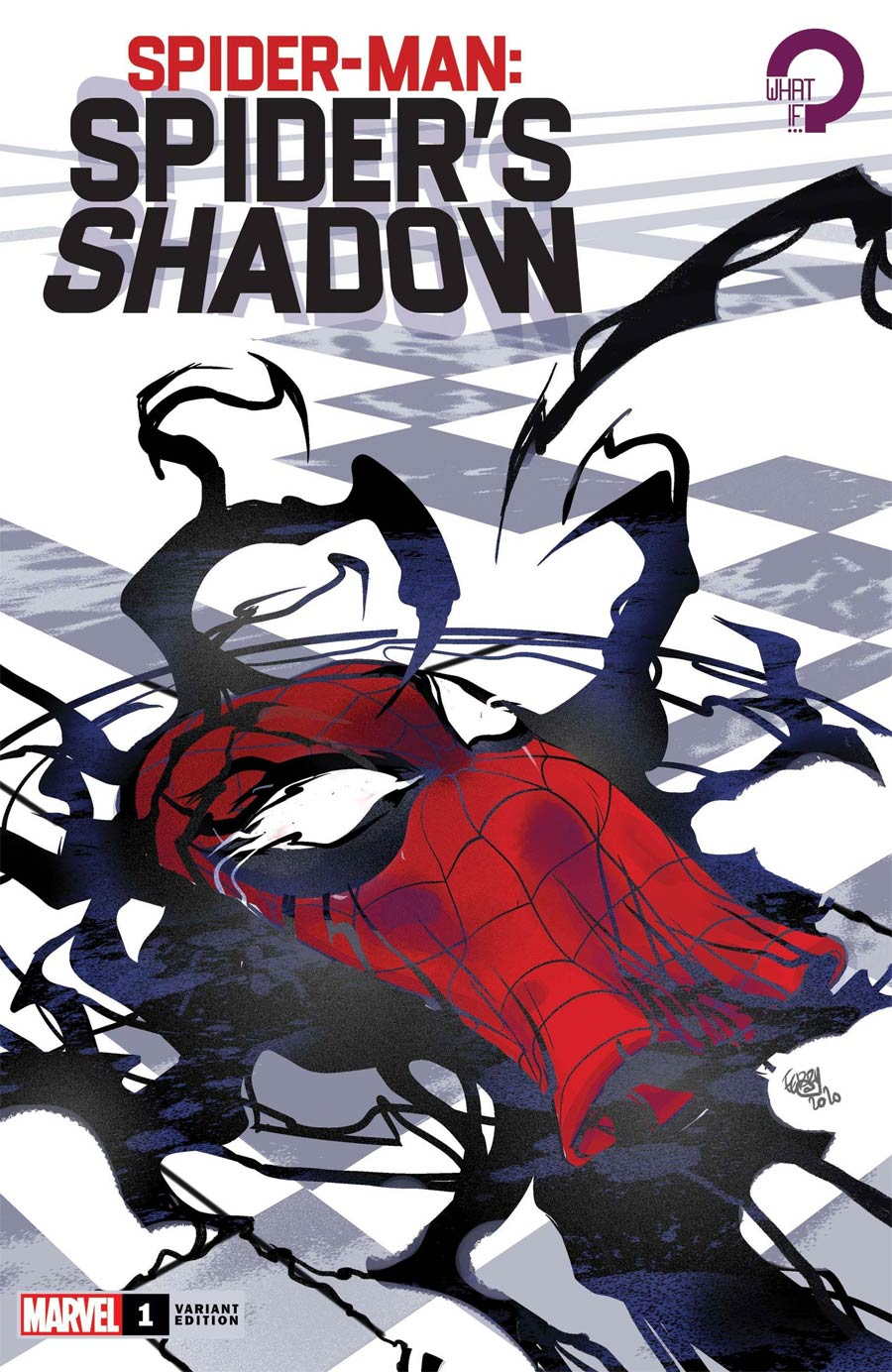 Spider-Man Spiders Shadow #1 Cover C Variant Pasqual Ferry Cover
