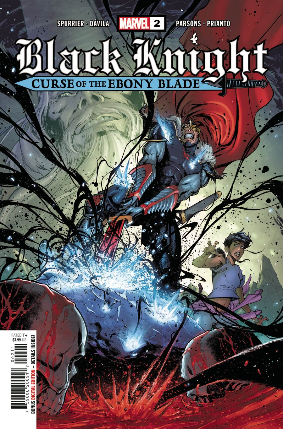 Black Knight Curse Of The Ebony Blade #2 Cover A Regular Iban Coello Cover