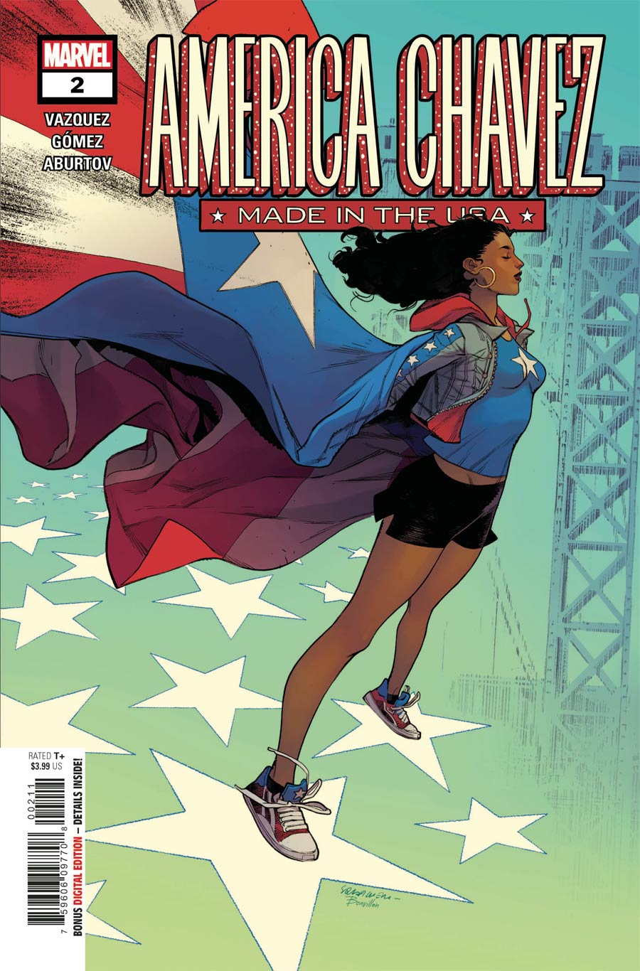 America Chavez Made In The USA #2 Cover A Regular Sara Pichelli Cover