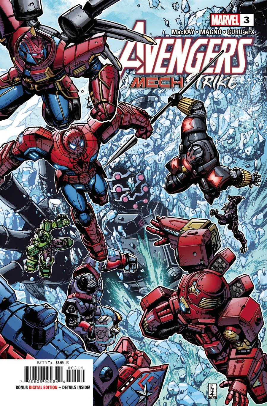 Avengers Mech Strike #3 Cover A Regular Kei Zama Cover