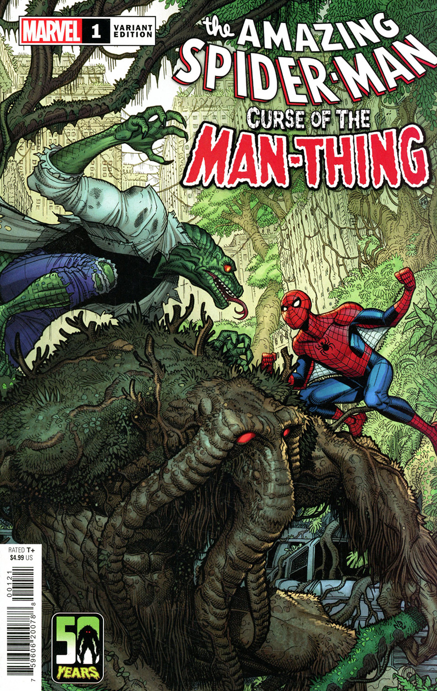 Spider-Man Curse Of The Man-Thing #1 (One Shot) Cover B Variant Nick Bradshaw Cover