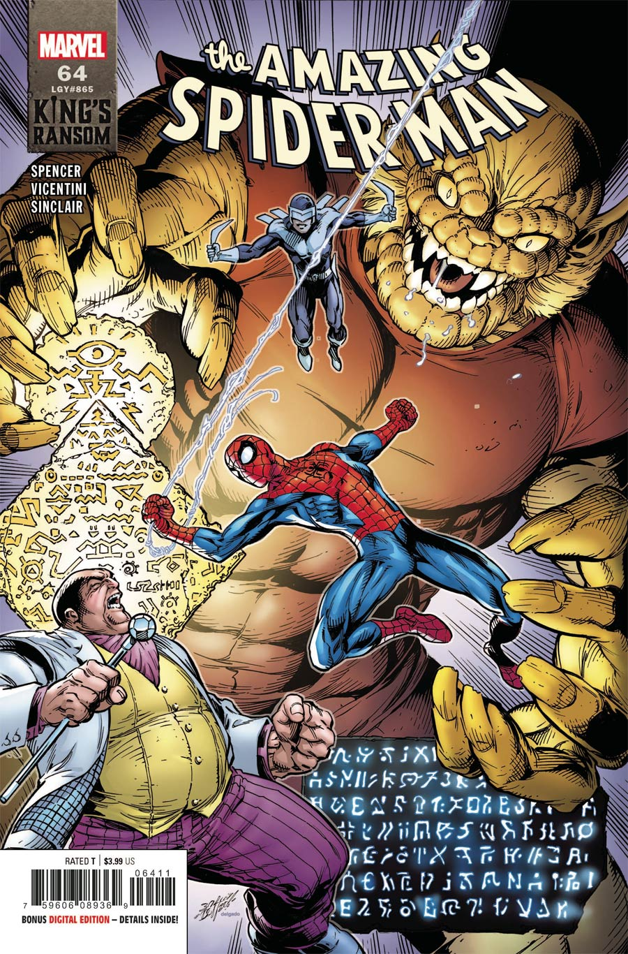 Amazing Spider-Man Vol 5 #64 Cover A Regular Mark Bagley Cover