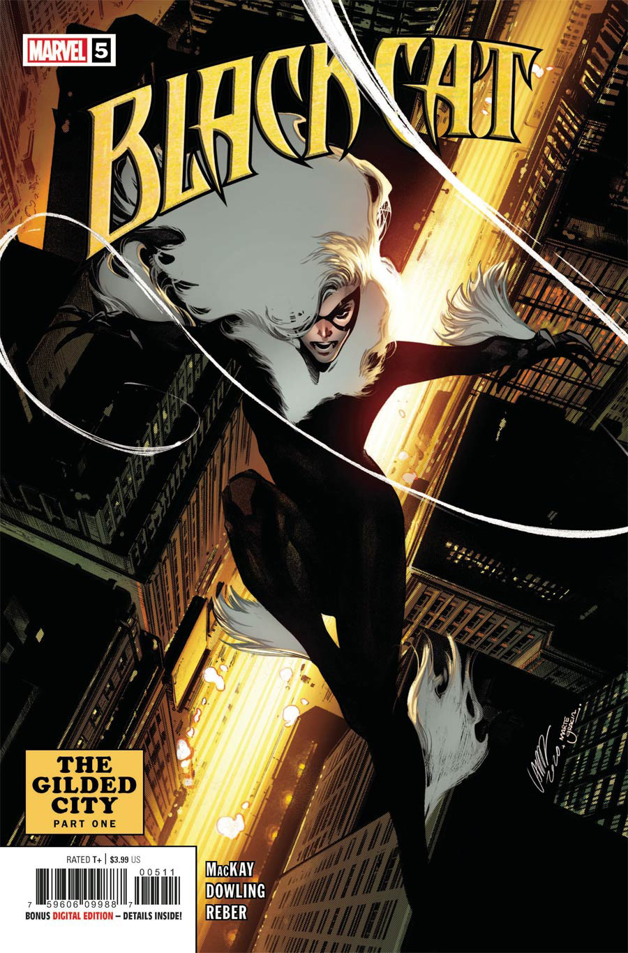 Black Cat Vol 2 #5 Cover A Regular Pepe Larraz Cover