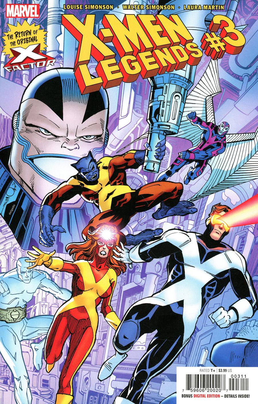 X-Men Legends #3 Cover A Regular Walter Simonson Cover