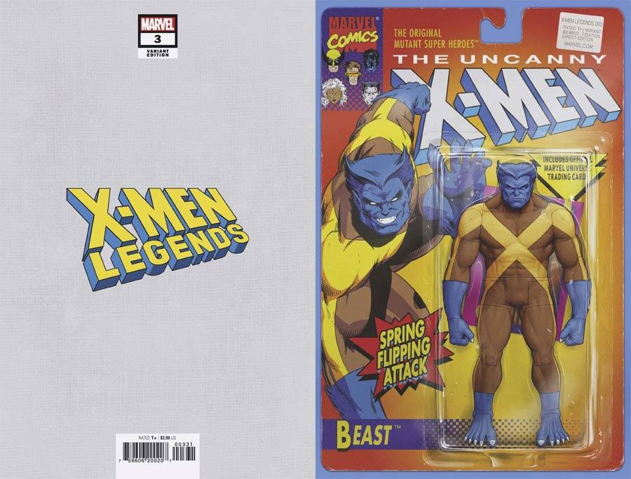 X-Men Legends #3 Cover B Variant John Tyler Christopher Action Figure Cover