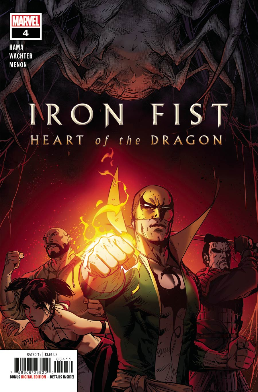 Iron Fist Heart Of The Dragon #4 Cover A Regular Billy Tan Cover