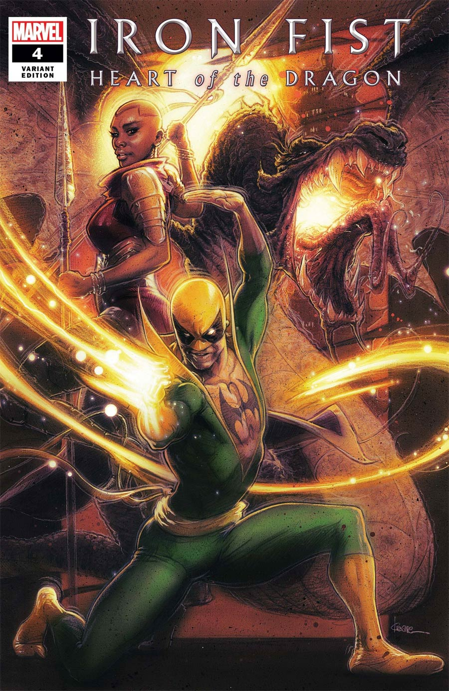 Iron Fist Heart Of The Dragon #4 Cover B Variant Kaare Andrews Cover