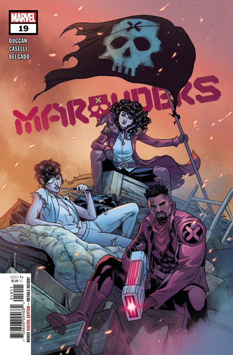 Marauders #19 Cover A Regular Russell Dauterman Cover