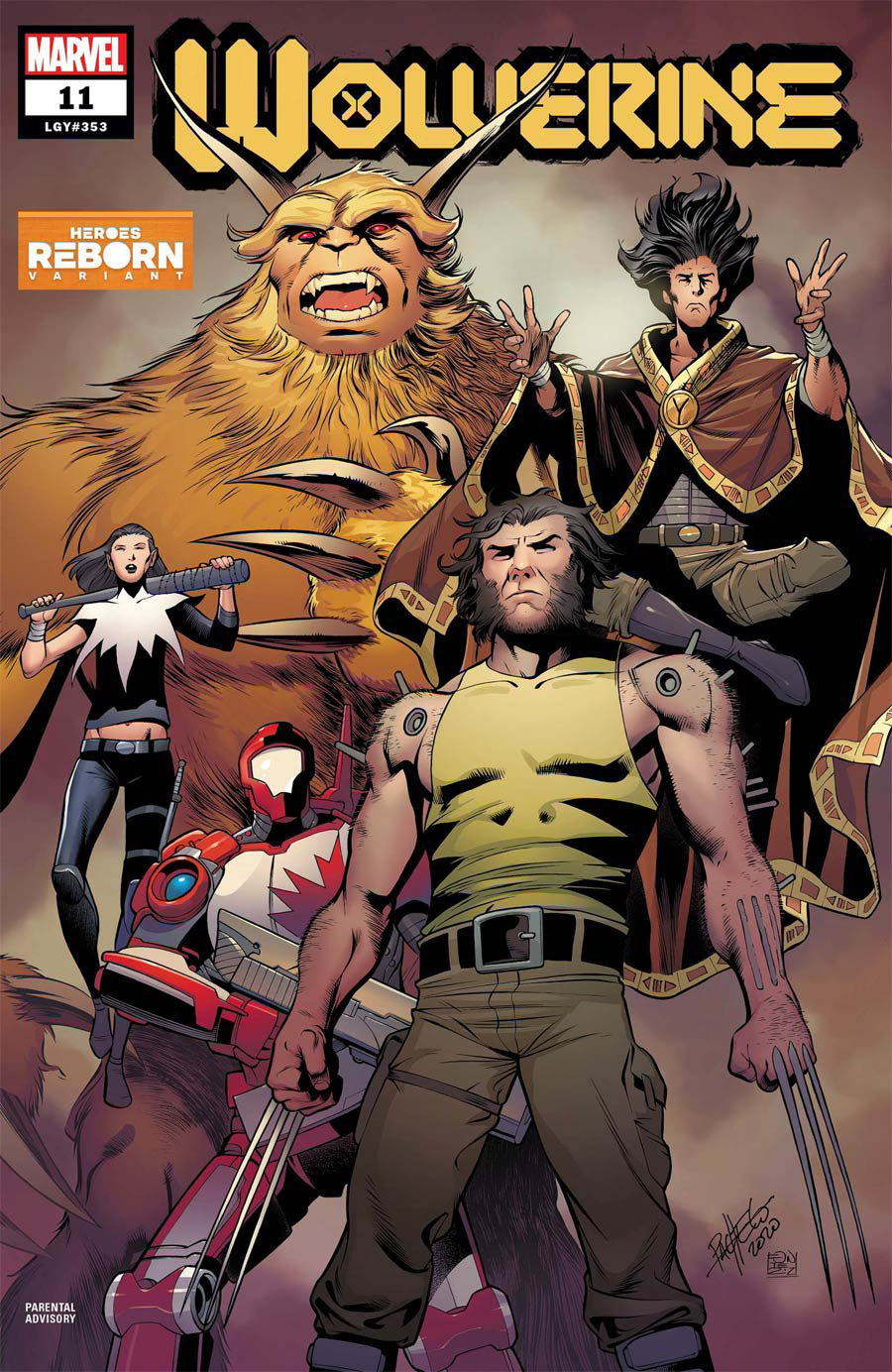 Wolverine Vol 7 #11 Cover B Variant Carlos Pacheco Heroes Reborn Cover