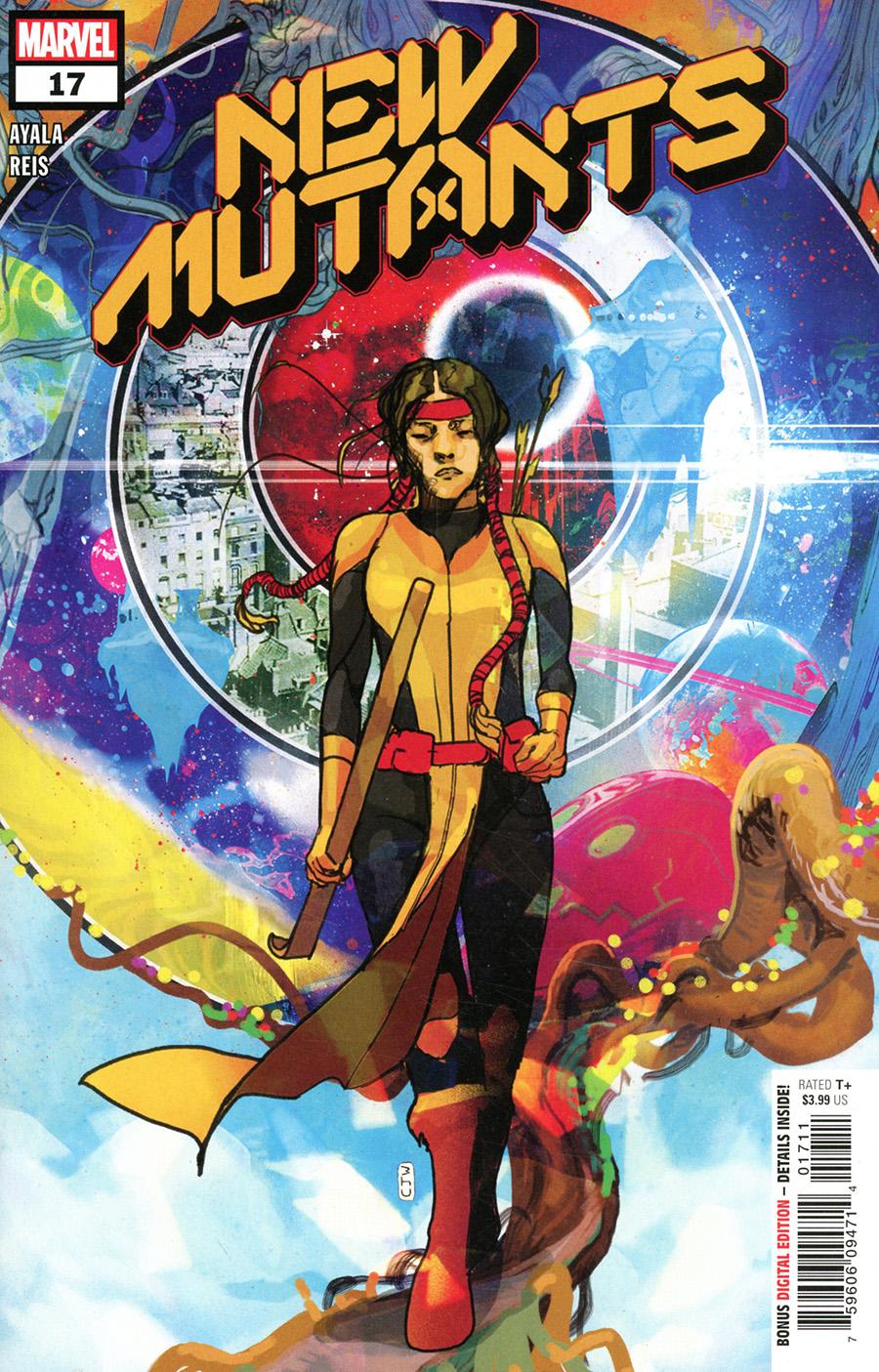 New Mutants Vol 4 #17 Cover A Regular Christian Ward Cover