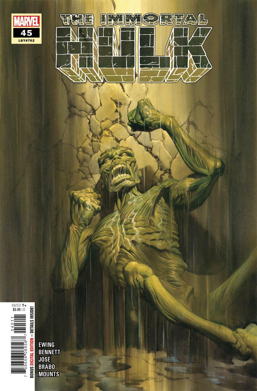 Immortal Hulk #45 Cover A Regular Alex Ross Cover (Limit 1 Per Customer)
