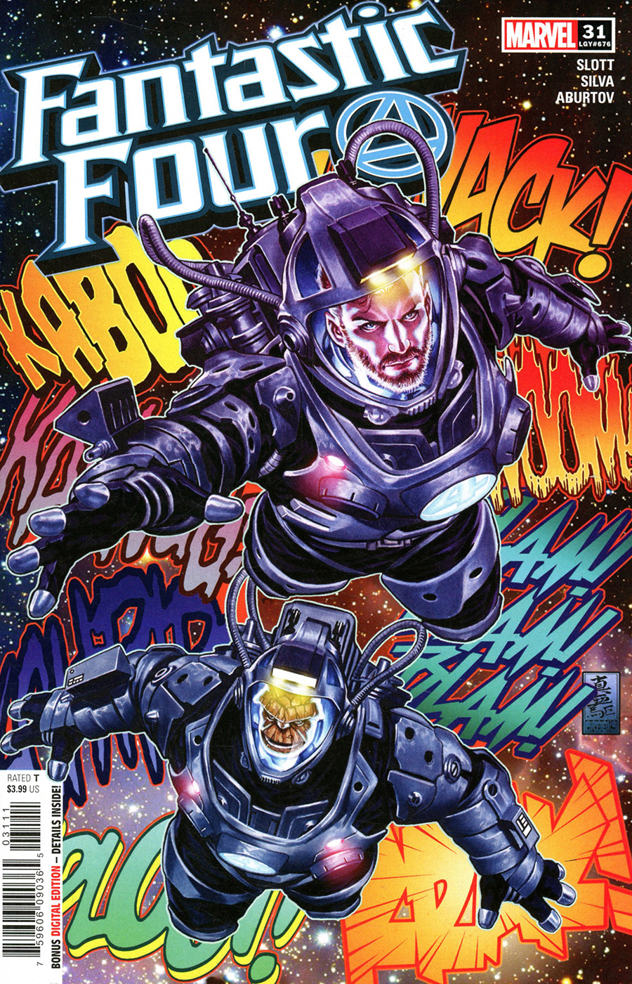Fantastic Four Vol 6 #31 Cover A Regular Mark Brooks Cover