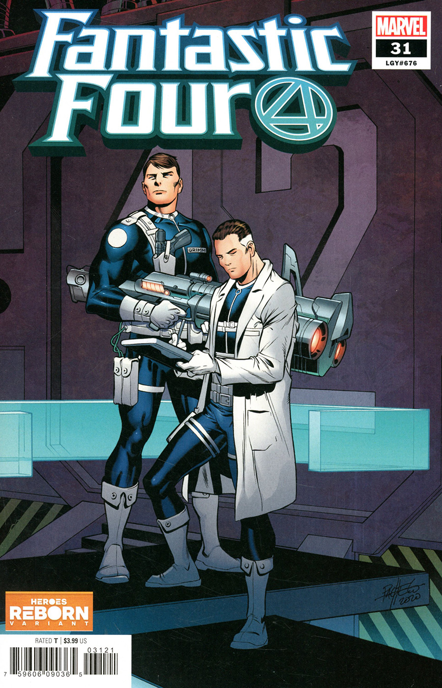 Fantastic Four Vol 6 #31 Cover B Variant Carlos Pacheco Heroes Reborn Cover