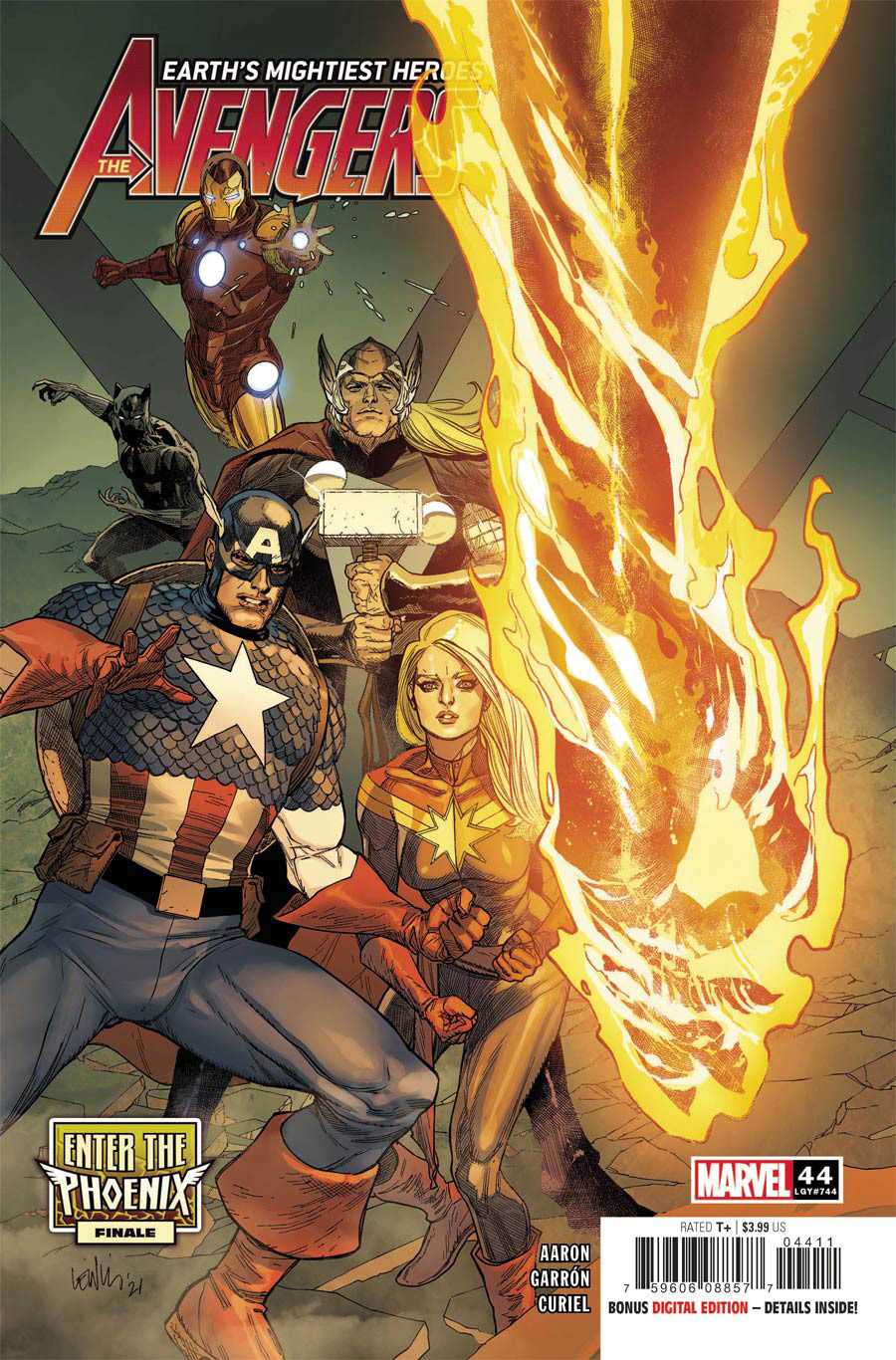 Avengers Vol 7 #44 Cover A Regular Leinil Francis Yu Cover