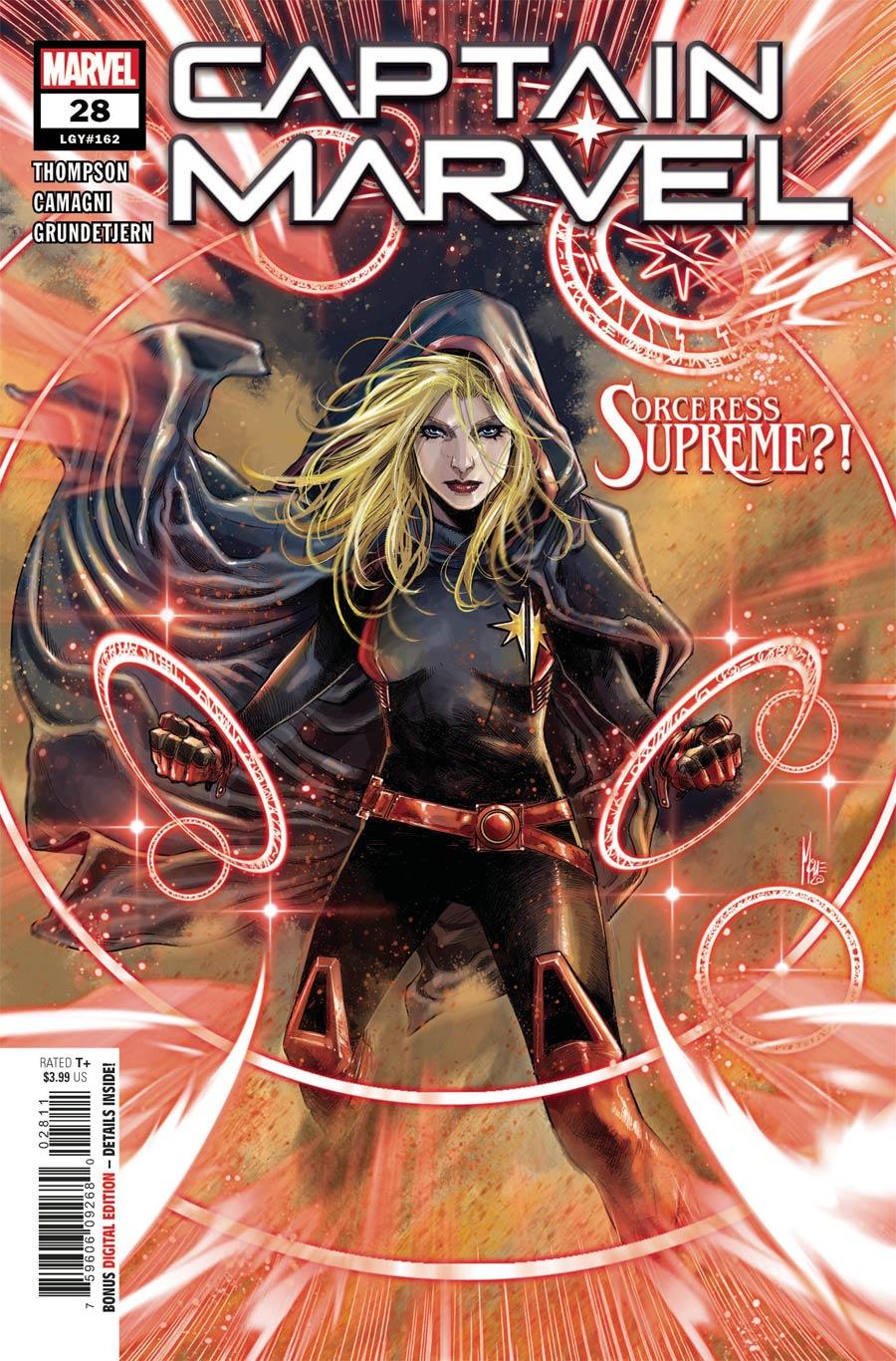 Captain Marvel Vol 9 #28 Cover A Regular Marco Checchetto Cover