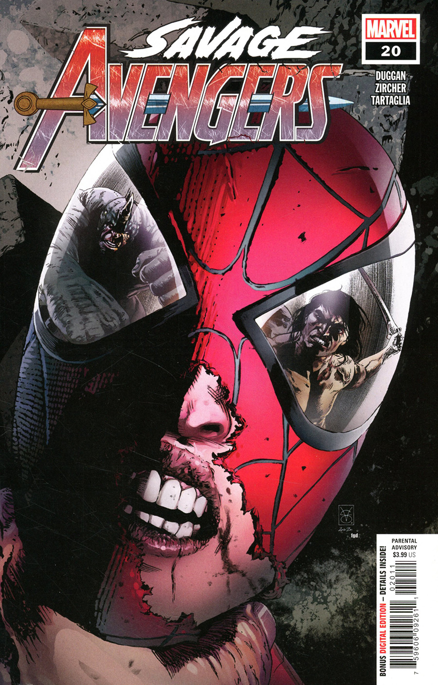 Savage Avengers #20 Cover A Regular Valerio Giangiordano Cover