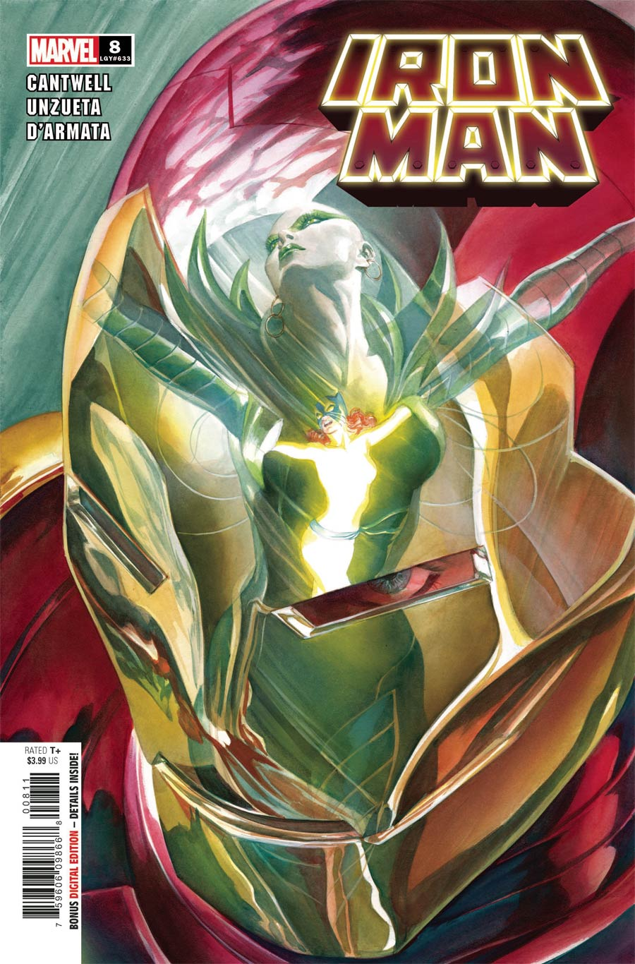 Iron Man Vol 6 #8 Cover A Regular Alex Ross Cover