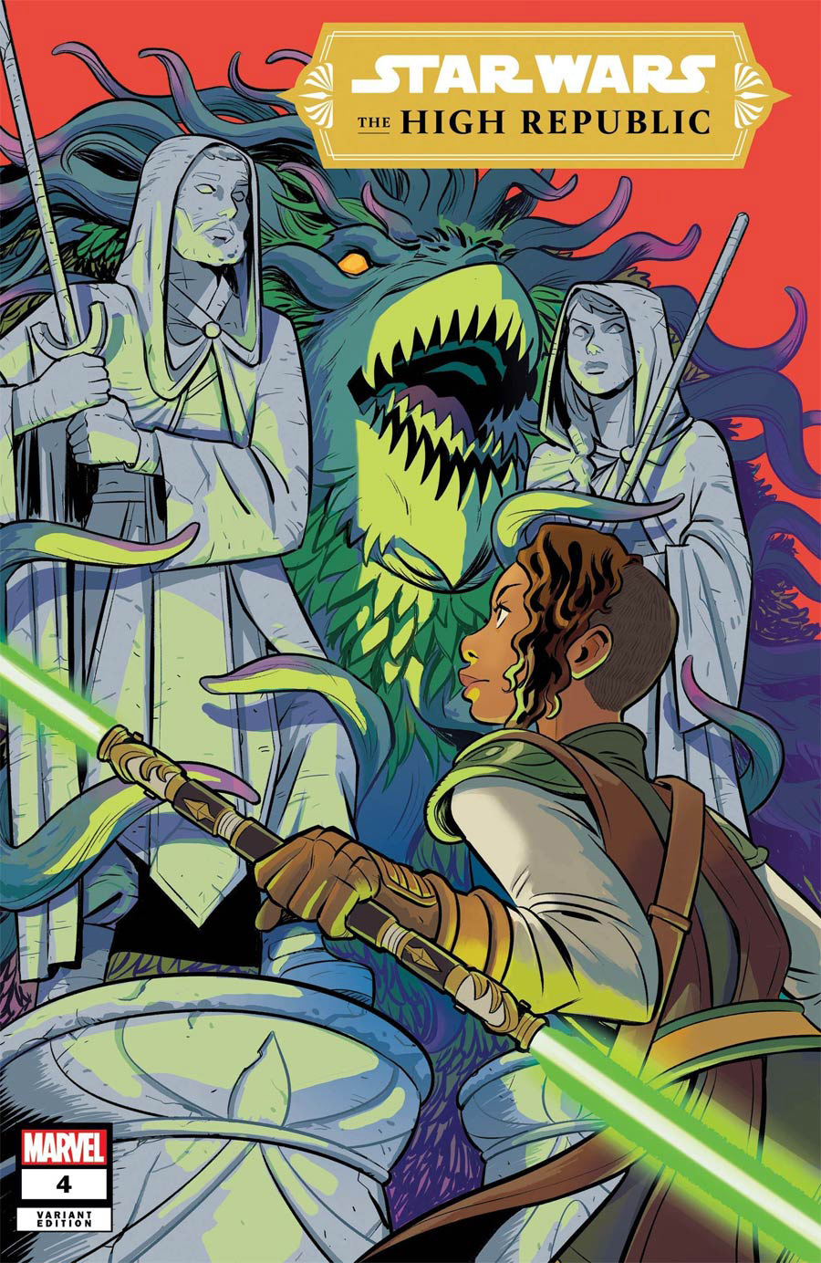 Star Wars High Republic #4 Cover B Variant Natacha Bustos Cover