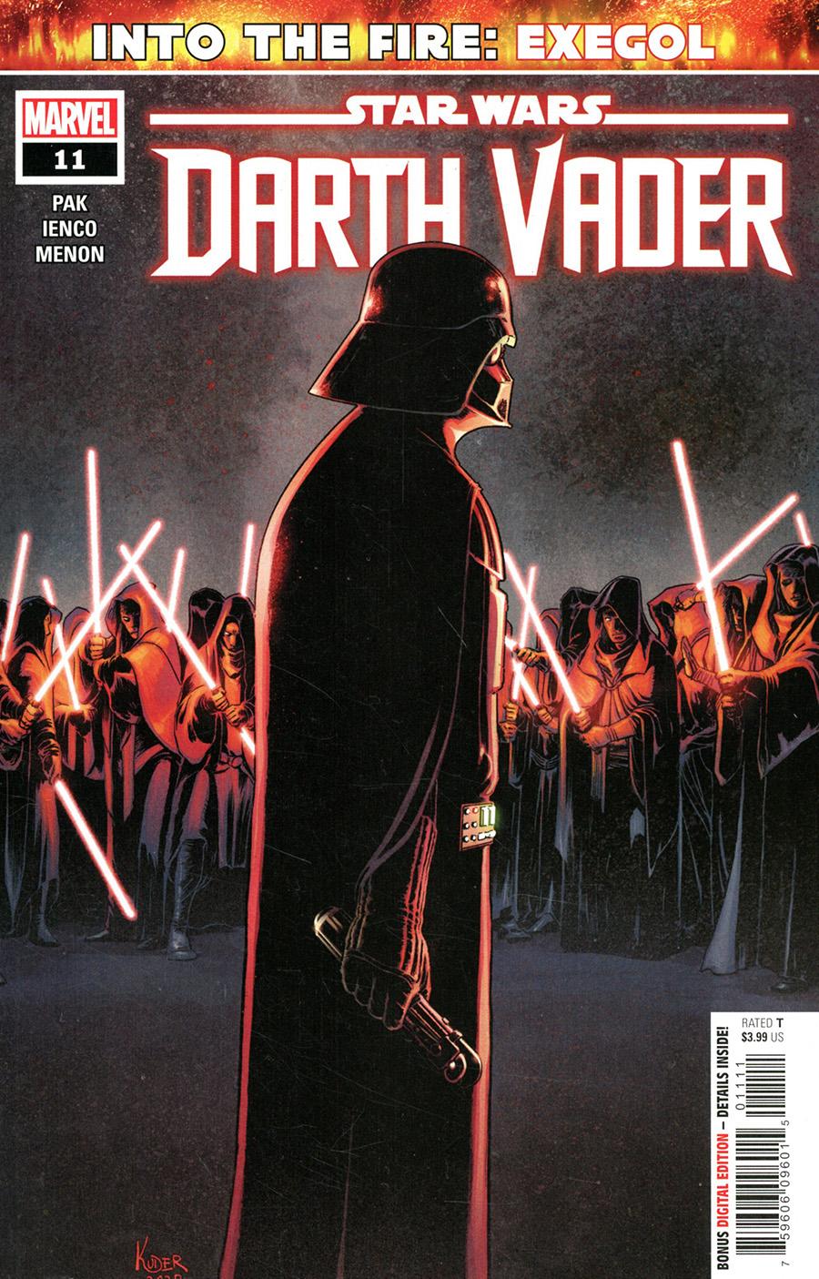 Star Wars Darth Vader #11 Cover A Regular Aaron Kuder Cover