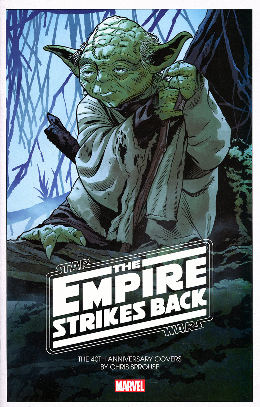 Star Wars Empire Strikes Back 40th Anniversary Covers By Chris Sprouse Cover A Regular Chris Sprouse Cover