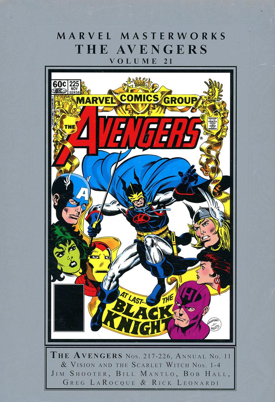 Marvel Masterworks Avengers Vol 21 HC Regular Dust Jacket