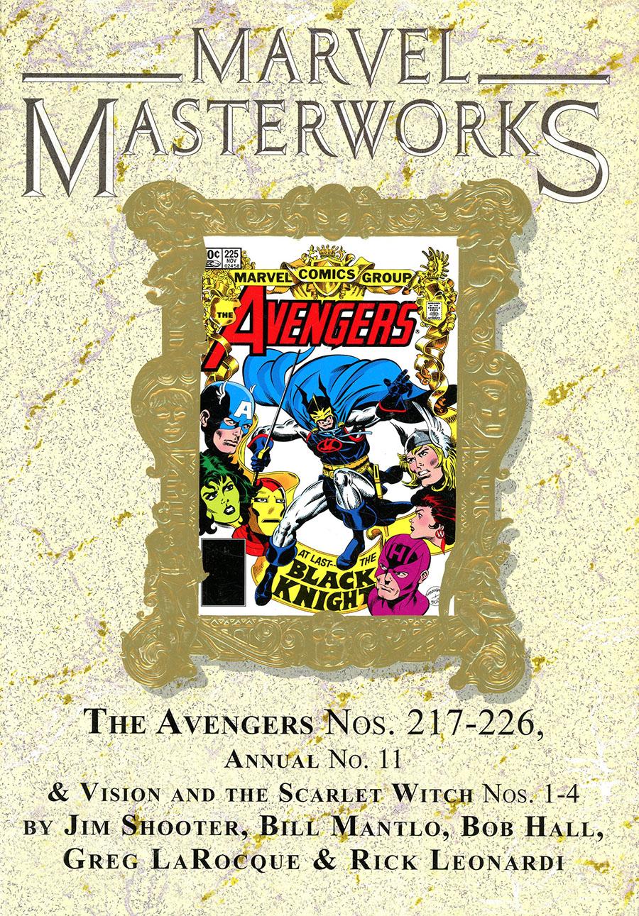 Marvel Masterworks Avengers Vol 21 HC Variant Dust Jacket