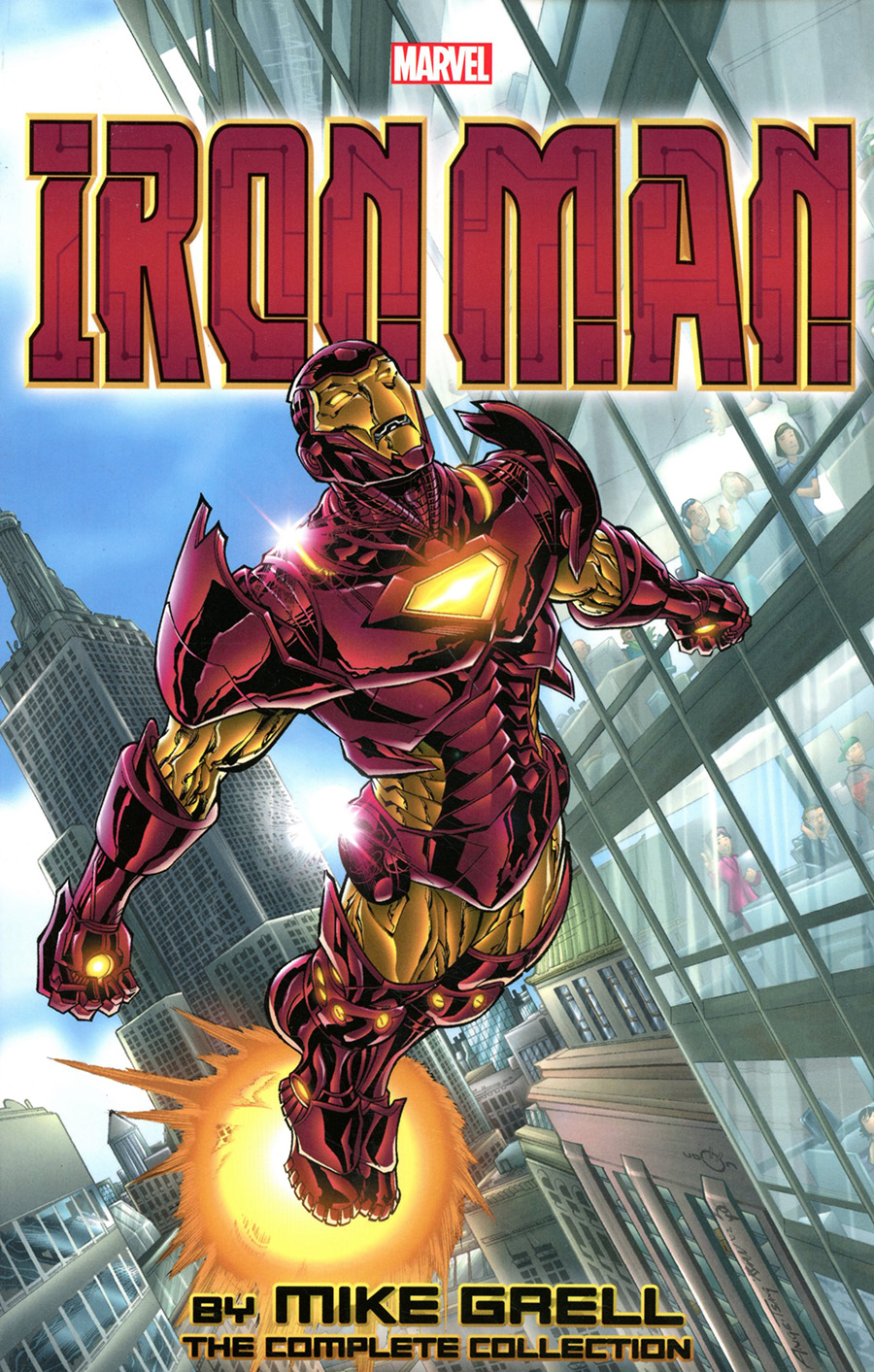 Iron Man By Mike Grell Complete Collection TP