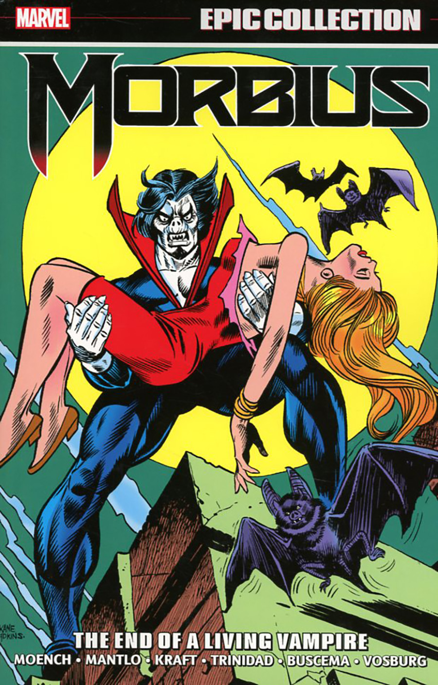 Morbius Epic Collection Vol 2 The End Of A Living Vampire TP