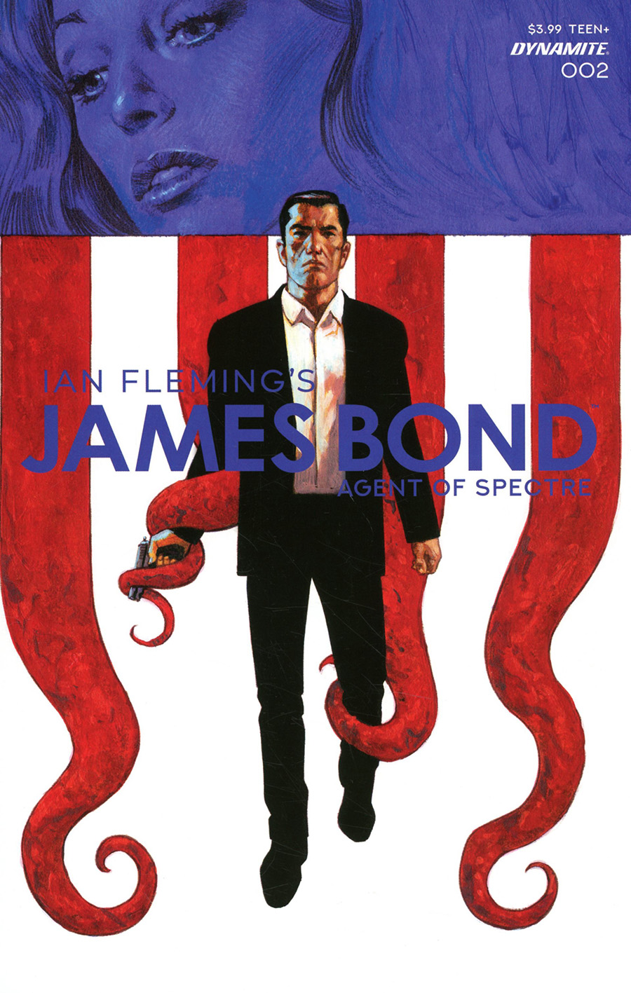 James Bond Agent Of SPECTRE #2 Cover A Regular Sean Phillips Cover