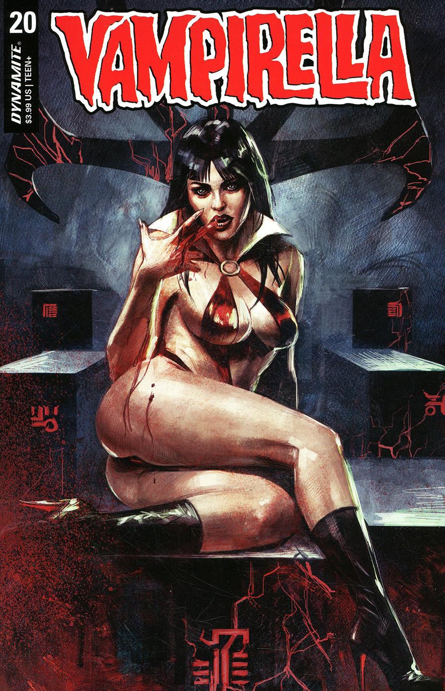 Vampirella Vol 8 #20 Cover B Variant Marco Mastrazzo Cover