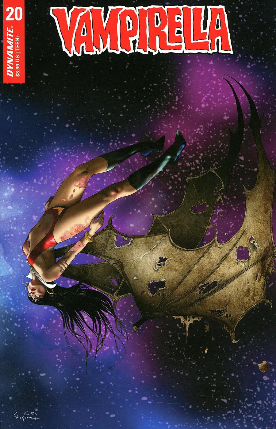 Vampirella Vol 8 #20 Cover D Variant Ergun Gunduz Cover