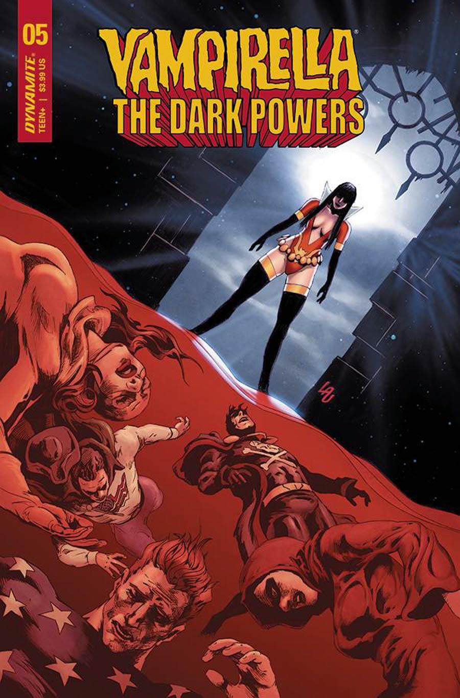 Vampirella The Dark Powers #5 Cover D Variant Jonathan Lau Cover