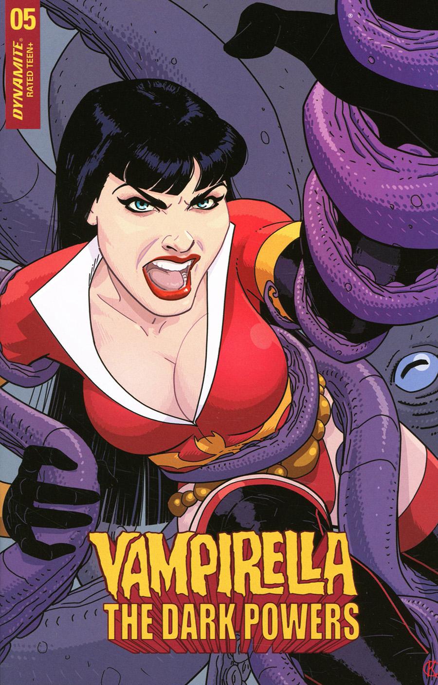 Vampirella The Dark Powers #5 Cover E Variant Kano Cover