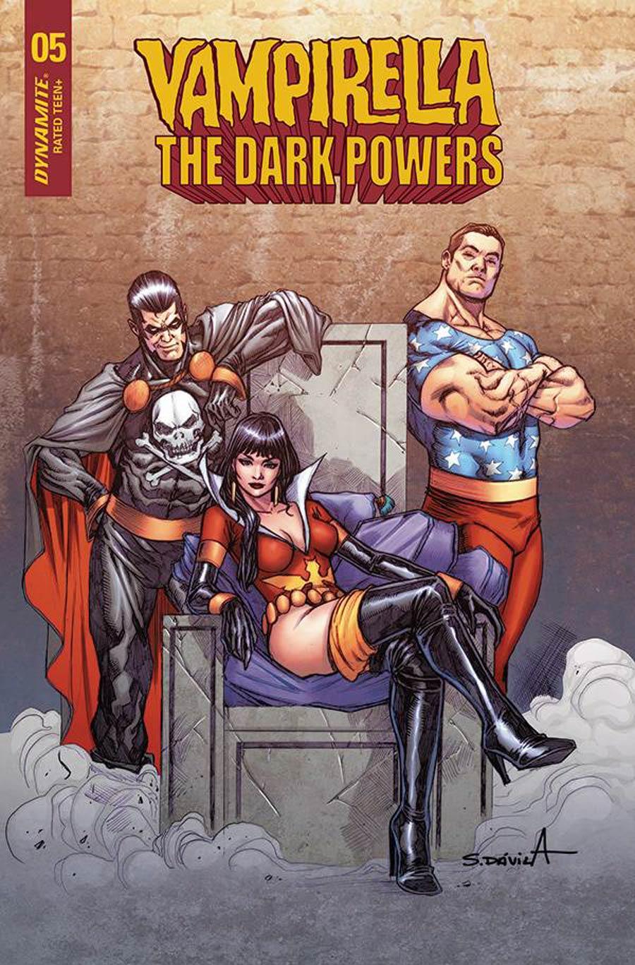 Vampirella The Dark Powers #5 Cover G Variant Sergio Davila Cover