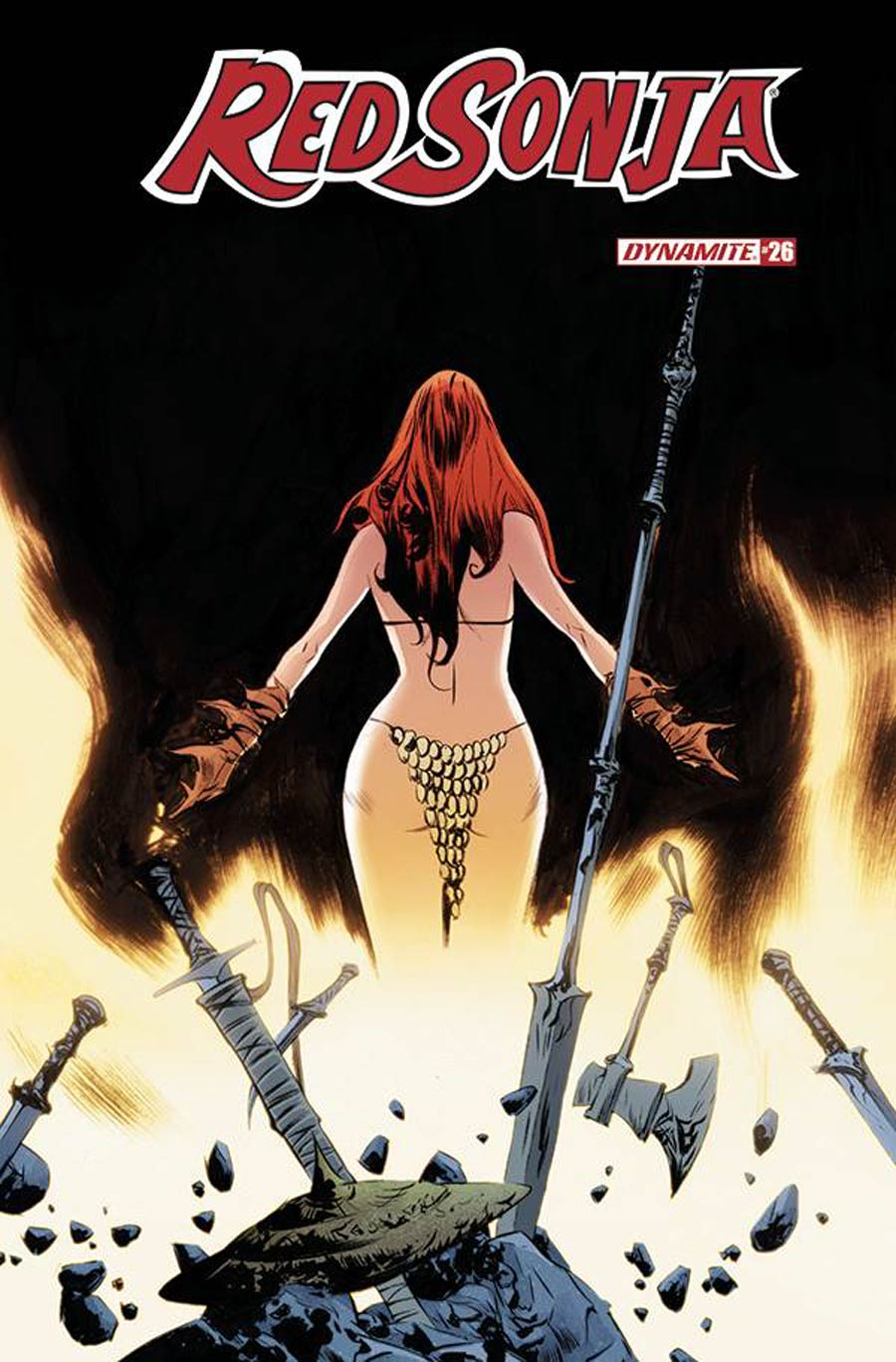 Red Sonja Vol 8 #26 Cover A Regular Jae Lee Cover
