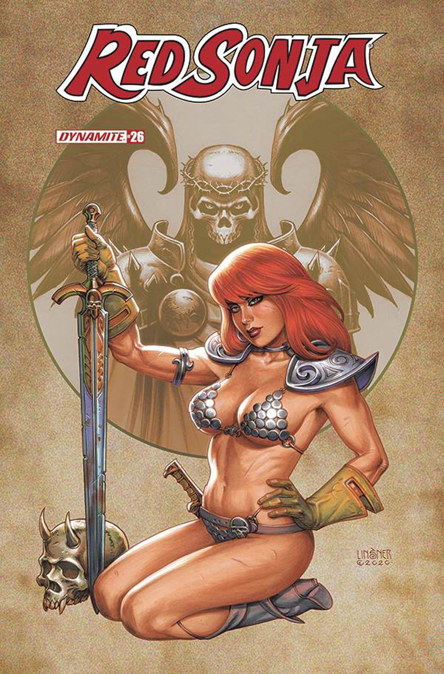 Red Sonja Vol 8 #26 Cover B Variant Joseph Michael Linsner Cover