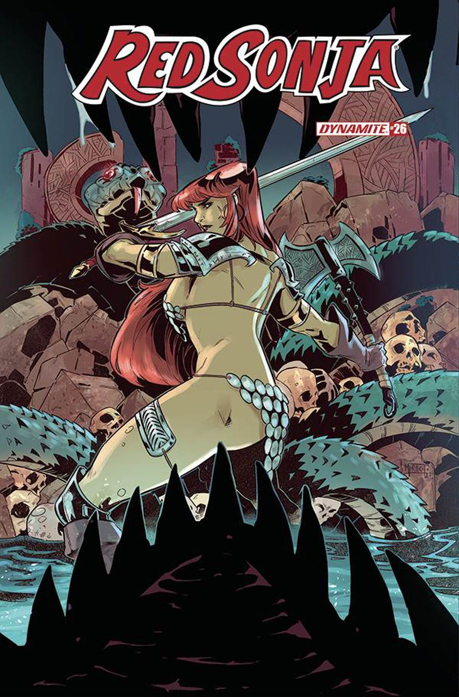 Red Sonja Vol 8 #26 Cover D Variant Alessandro Miracolo Cover