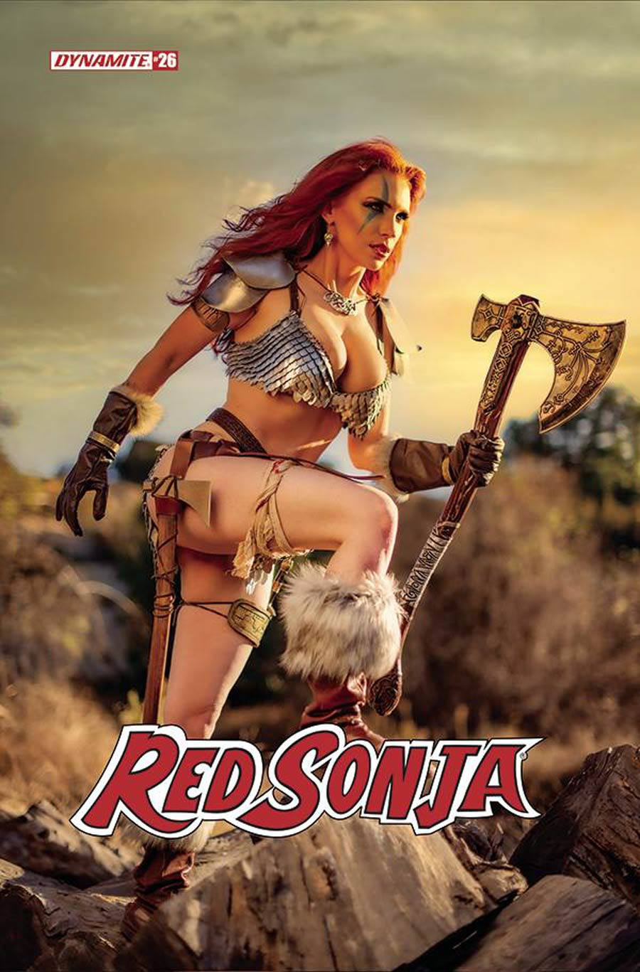 Red Sonja Vol 8 #26 Cover E Variant Gracie The Cosplay Lass Cosplay Photo Cover