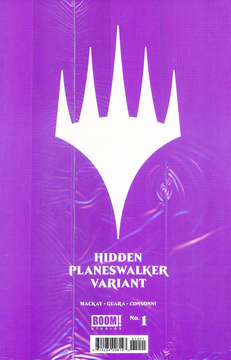 Magic (MTG) #1 Cover B Variant Hidden Planeswalker Cover