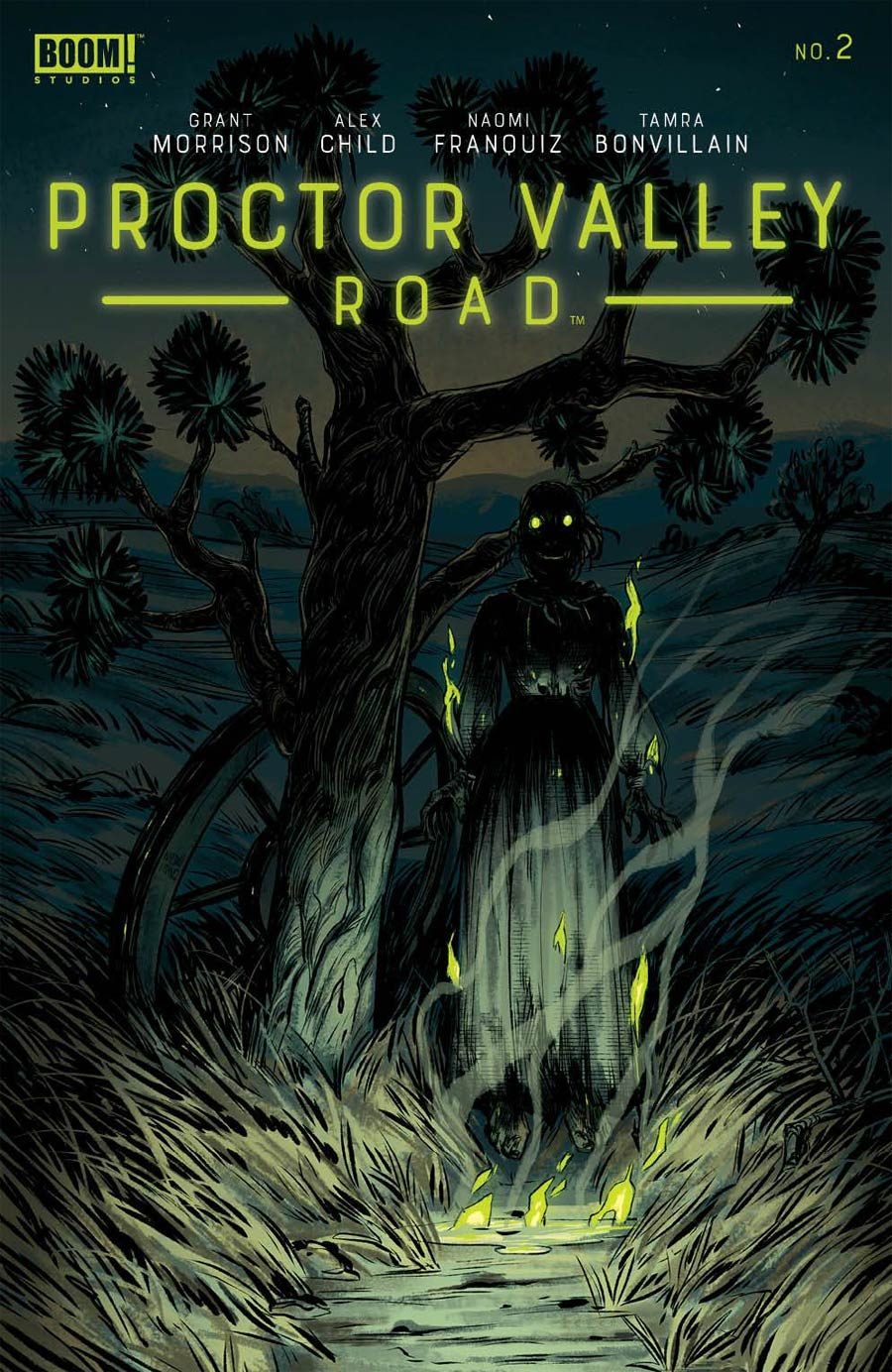 Proctor Valley Road #2 Cover A Regular Naomi Franquiz Cover