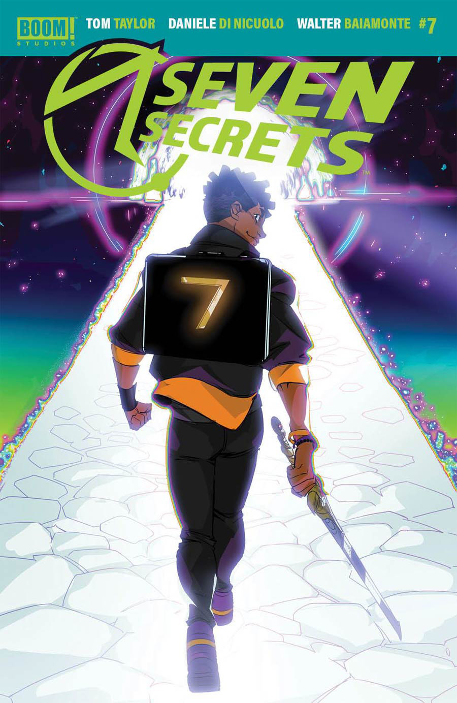 Seven Secrets #7 Cover A Regular Daniele di Nicuolo Cover