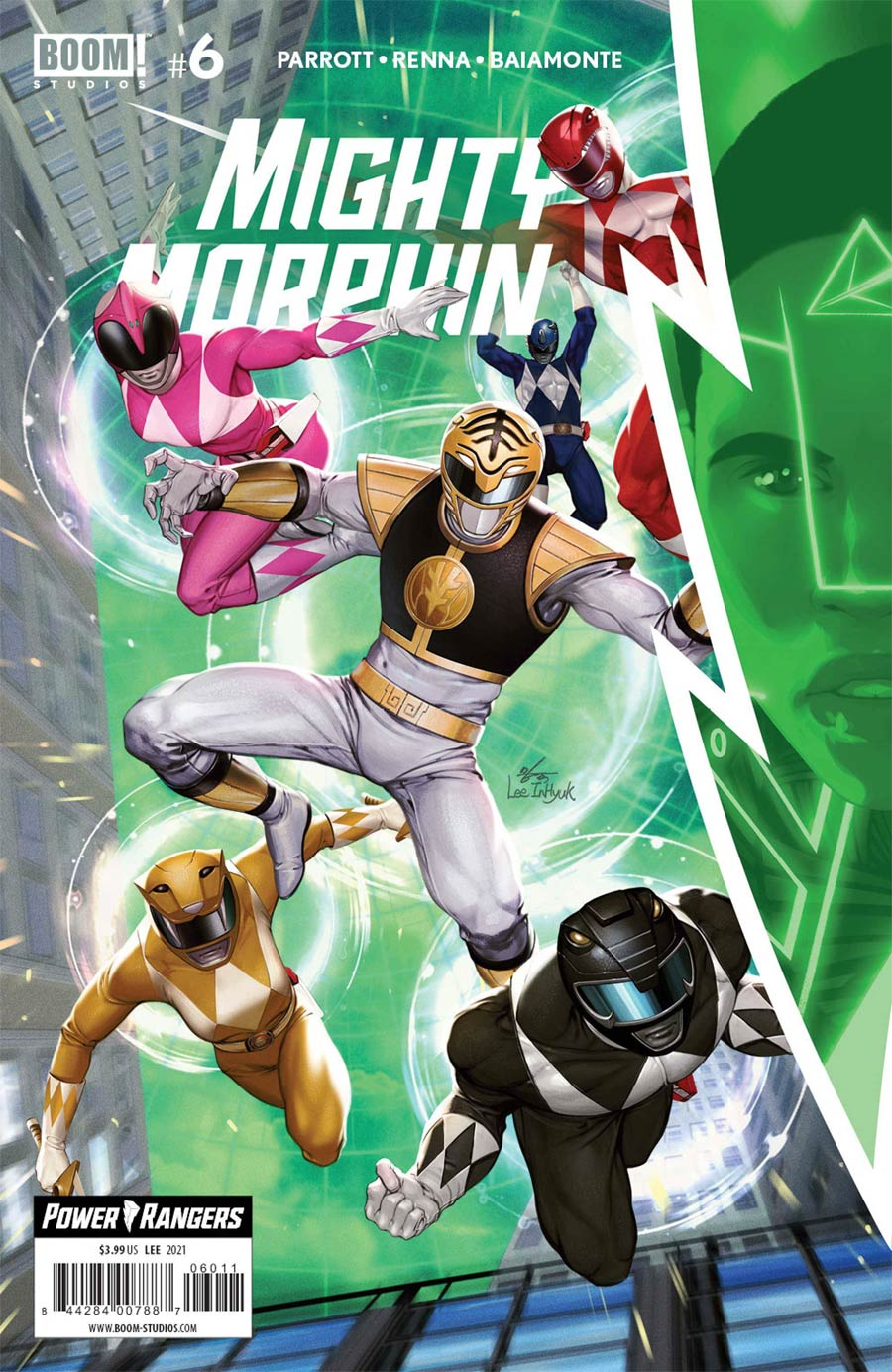 Mighty Morphin #6 Cover A Regular Inhyuk Lee Cover