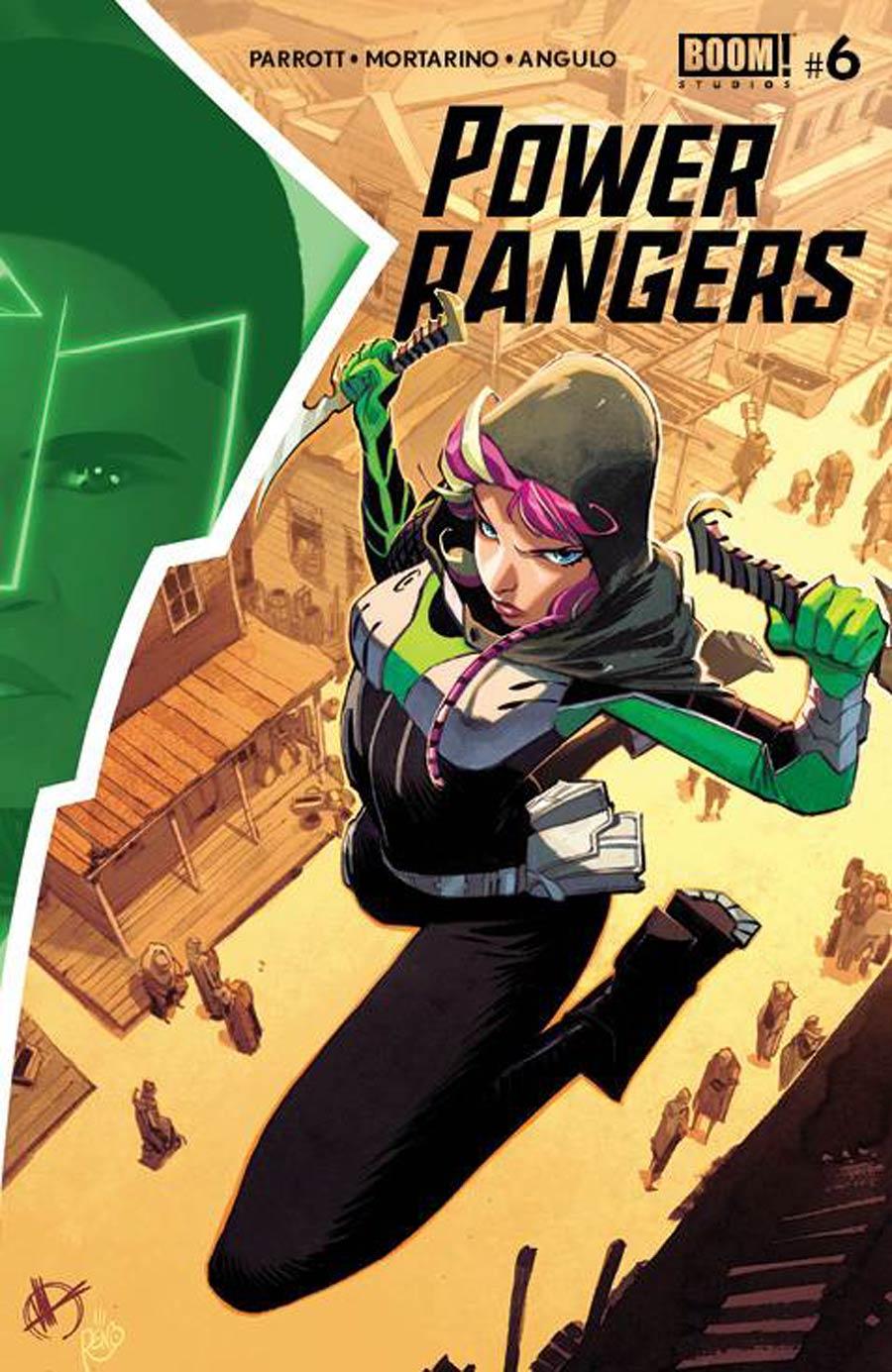 Power Rangers #6 Cover A Regular Matteo Scalera Cover