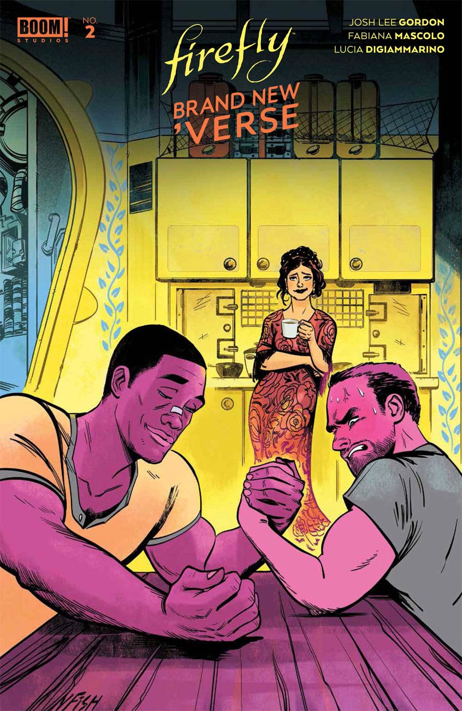 Firefly Brand New Verse #2 Cover B Variant Veronica Fish Cover
