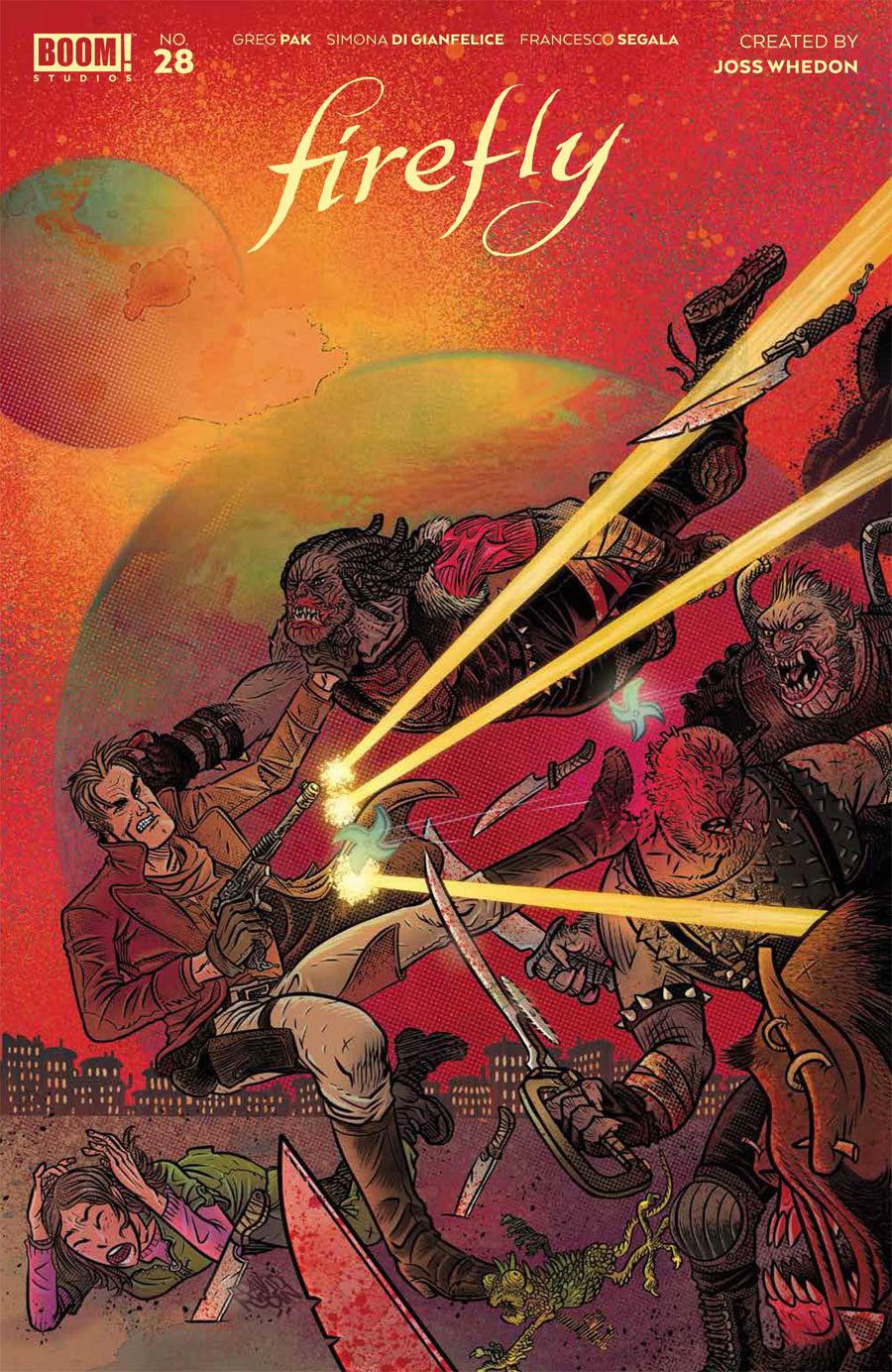 Firefly #28 Cover B Variant David Rubin Cover