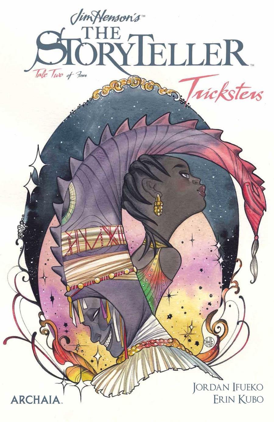 Jim Hensons Storyteller Tricksters #2 Cover A Regular Peach Momoko Cover
