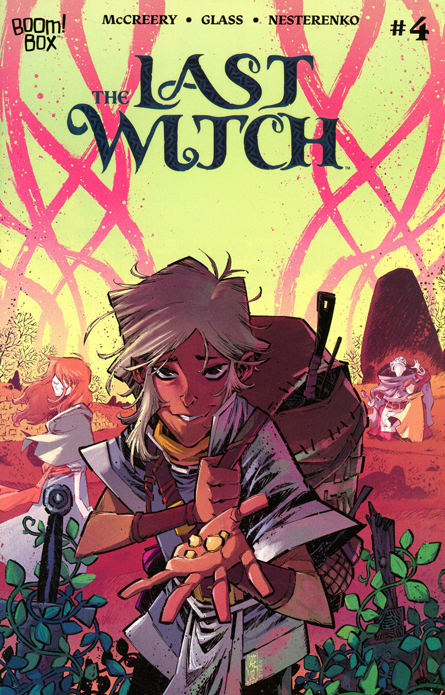 Last Witch #4 Cover B Variant Jorge Corona Cover