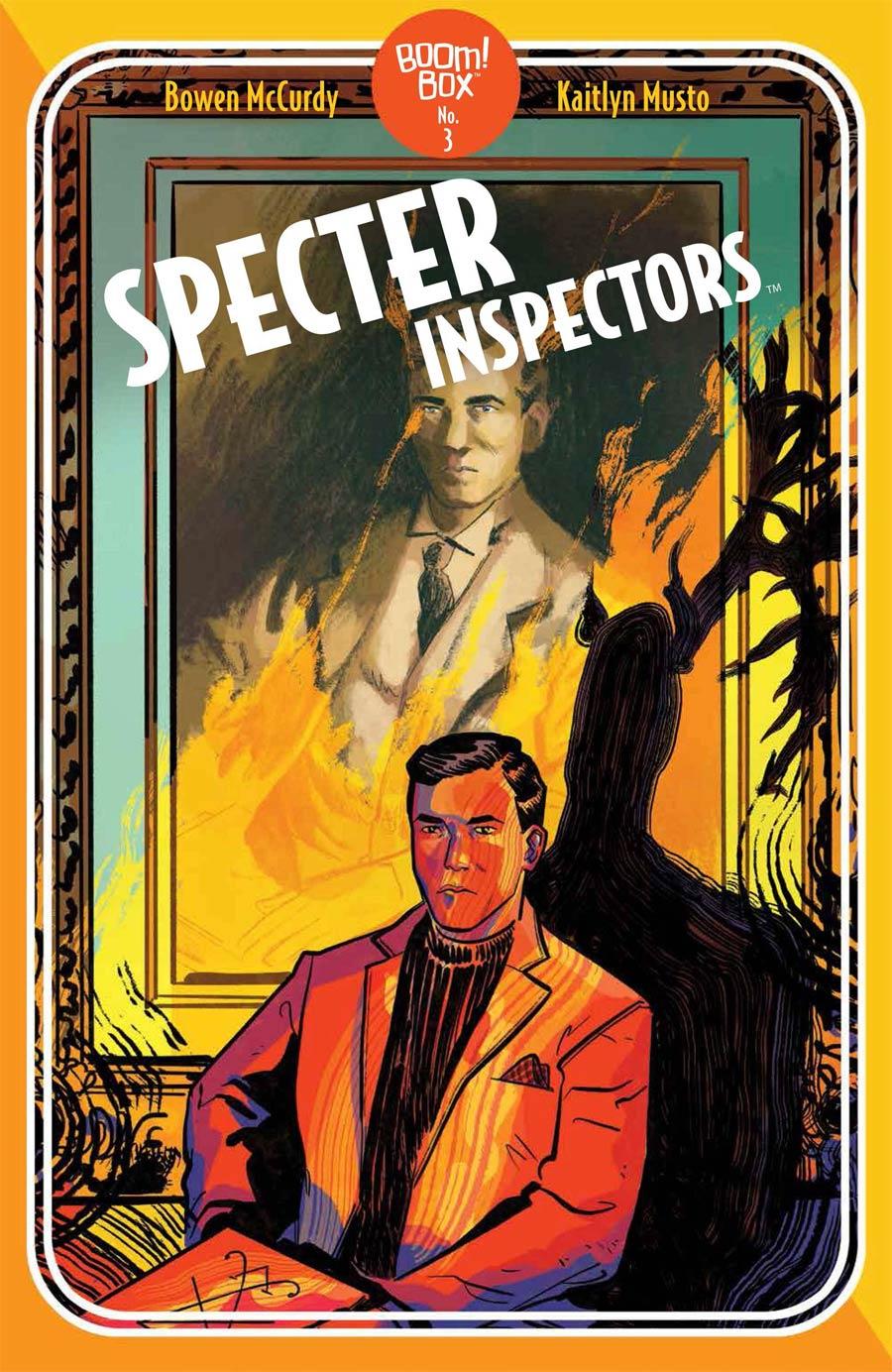 Specter Inspectors #3 Cover B Variant Erica Henderson Pocket Book Cover