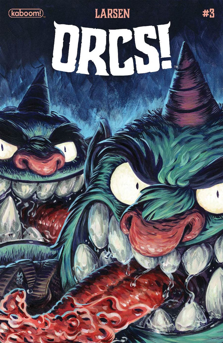 Orcs #3 Cover A Regular Christine Larsen Cover