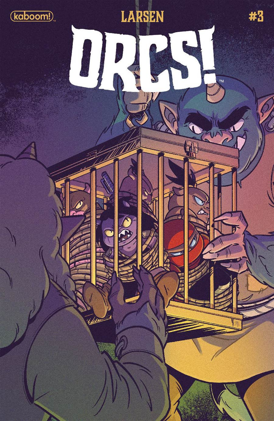 Orcs #3 Cover B Variant Sweeney Boo Cover